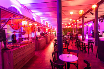 Streetfood Market im Magazin in der Heeresbäckerei